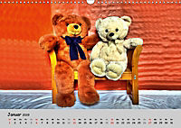 TEDDYBÄR, OH TEDDYBÄR... (Wandkalender 2019 DIN A3 quer) - Produktdetailbild 1