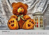 TEDDYBÄR, OH TEDDYBÄR... (Wandkalender 2019 DIN A3 quer) - Produktdetailbild 11