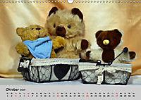 TEDDYBÄR, OH TEDDYBÄR... (Wandkalender 2019 DIN A3 quer) - Produktdetailbild 10