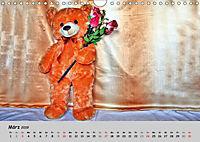 TEDDYBÄR, OH TEDDYBÄR... (Wandkalender 2019 DIN A4 quer) - Produktdetailbild 3