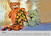 TEDDYBÄR, OH TEDDYBÄR... (Wandkalender 2019 DIN A4 quer) - Produktdetailbild 7