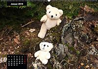 Teddys in AktionCH-Version (Wandkalender 2019 DIN A2 quer) - Produktdetailbild 1