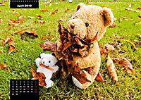 Teddys in AktionCH-Version (Wandkalender 2019 DIN A2 quer) - Produktdetailbild 4