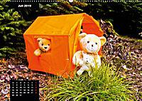 Teddys in AktionCH-Version (Wandkalender 2019 DIN A2 quer) - Produktdetailbild 7