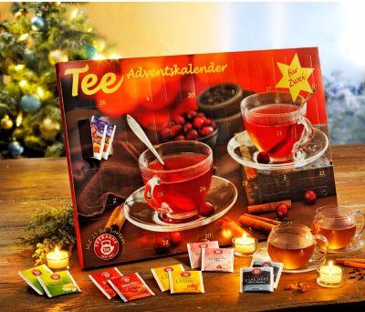 Tee-Adventskalender für Zwei 2017