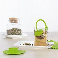 Tee-Ei mit Unterteller von VitalWorld - Produktdetailbild 1