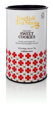 Teedose Sweet Cookies inkl. 50 Teebeutel
