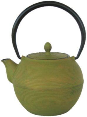 Teekanne MING grün/gold