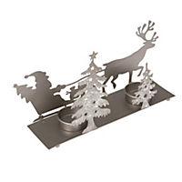Teelichthalter Santa mit Schlitten - Produktdetailbild 2