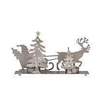 Teelichthalter Santa mit Schlitten - Produktdetailbild 3