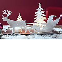 Teelichthalter Santa mit Schlitten - Produktdetailbild 4
