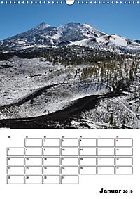Teide und Cañadas (Wandkalender 2019 DIN A3 hoch) - Produktdetailbild 1