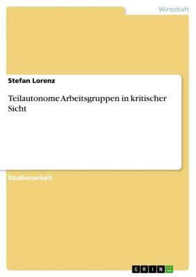 Teilautonome Arbeitsgruppen in kritischer Sicht, Stefan Lorenz