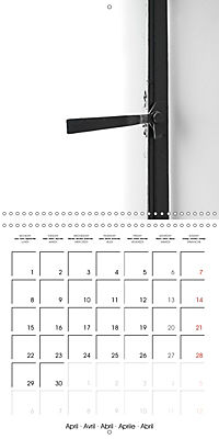 TEL AVIV modern architecture in detail (Wall Calendar 2019 300 × 300 mm Square) - Produktdetailbild 4