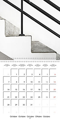 TEL AVIV modern architecture in detail (Wall Calendar 2019 300 × 300 mm Square) - Produktdetailbild 10