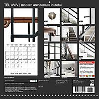 TEL AVIV modern architecture in detail (Wall Calendar 2019 300 × 300 mm Square) - Produktdetailbild 13