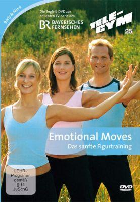Tele-Gym - Emotional Moves: Sanfte Übungen für Bauch, Rücken, Po u. Beine, Nina Winkler