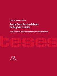 Teoria Geral das Invalidades do Negócio Jurídico, Eduardo Nunes de Souza