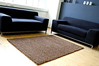 Teppich Shaggy, schoko (Grösse: 160x230 cm) - Produktdetailbild 1