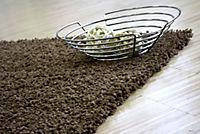 Teppich Shaggy, schoko (Grösse: 160x230 cm) - Produktdetailbild 2