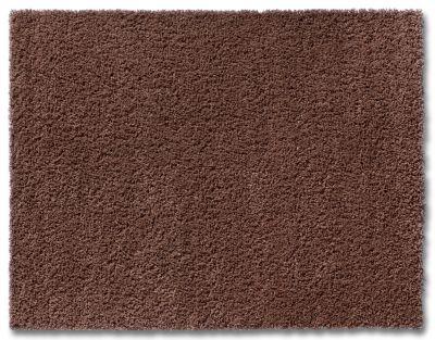 Teppich Shaggy, schoko (Grösse: 66x110 cm)