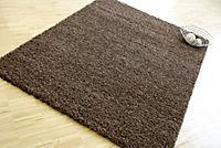 Teppich Shaggy, schoko (Grösse: 66x110 cm) - Produktdetailbild 1