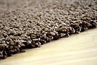 Teppich Shaggy, schoko (Grösse: 66x110 cm) - Produktdetailbild 2