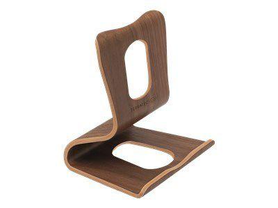 TERRATEC Holz eins Tablet Staender aus Echtholz