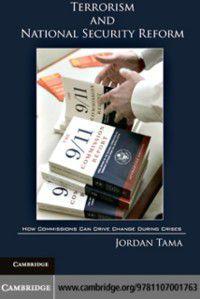 Terrorism and National Security Reform, Jordan Tama