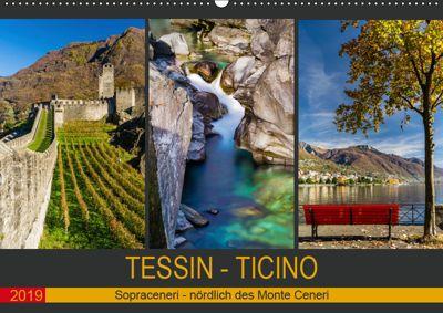 Tessin - Ticino (Wandkalender 2019 DIN A2 quer), Enrico Caccia