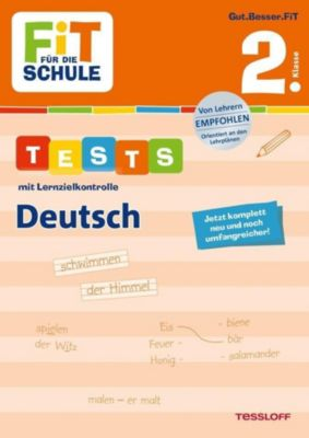 Tests mit Lernzielkontrolle, Deutsch 2. Klasse - Julia Meyer |