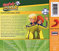 Teufelskicker Hörspiel Band 24: Geheimakte Blau-Gelb! (1 Audio-CD) - Produktdetailbild 1
