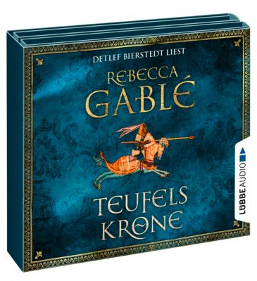 Teufelskrone, 12 Audio-CDs - Rebecca Gablé  