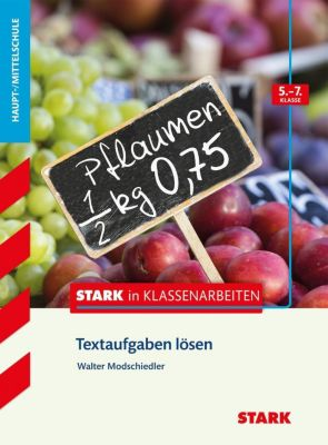 Textaufgaben lösen 5.-7. Klasse Haupt-/Mittelschule - Walter Modschiedler |