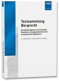 Textsammlung Bergrecht -  pdf epub