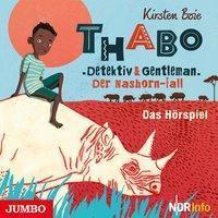 Thabo. Detektiv und Gentleman - Der Nashorn-Fall., 1 Audio-CD, Kirsten Boie