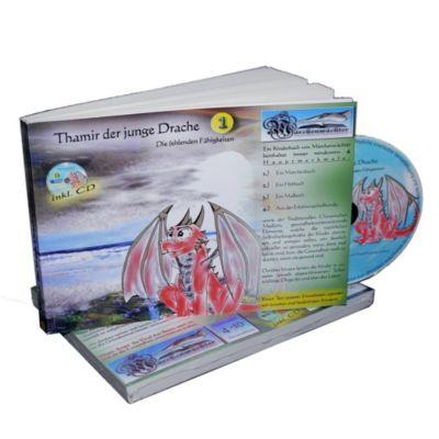Thamir der junge Drache 1 - incl. CD, Sandra Weber, Armin Koch