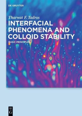 Tharwat F. Tadros: Interfacial phenomena and Collo: Volume 1 Interfacial Phenomena and Colloid Stability, Tharwat F. Tadros