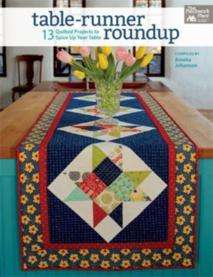 That Patchwork Place: Table-Runner Roundup, Amelia Johanson