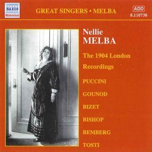 The 1904 London Recordings, Nellie Melba