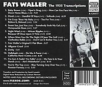 The 1935 Transcriptions - Produktdetailbild 1