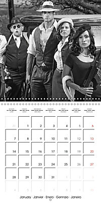The 20th Century - Gangsters, girls and guns (Wall Calendar 2019 300 × 300 mm Square) - Produktdetailbild 1