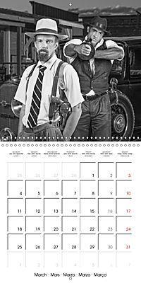The 20th Century - Gangsters, girls and guns (Wall Calendar 2019 300 × 300 mm Square) - Produktdetailbild 3