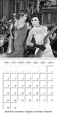 The 20th Century - Gangsters, girls and guns (Wall Calendar 2019 300 × 300 mm Square) - Produktdetailbild 12