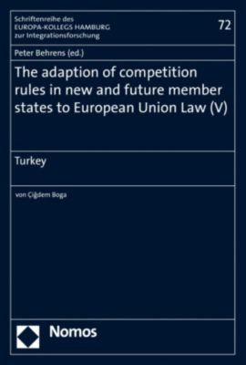 The adaption of competition rules in new and future member states to European Union Law (V)