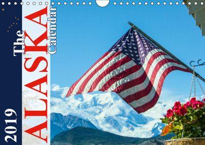 The Alaska Calendar UK-Version (Wall Calendar 2019 DIN A4 Landscape), Max Steinwald