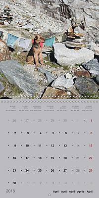 The Alpinedale (Wall Calendar 2018 300 × 300 mm Square) - Produktdetailbild 4