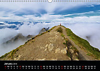 the alps between mountain and valley (Wall Calendar 2019 DIN A3 Landscape) - Produktdetailbild 1