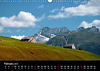 the alps between mountain and valley (Wall Calendar 2019 DIN A3 Landscape) - Produktdetailbild 2
