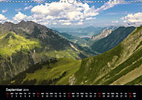 the alps between mountain and valley (Wall Calendar 2019 DIN A3 Landscape) - Produktdetailbild 9